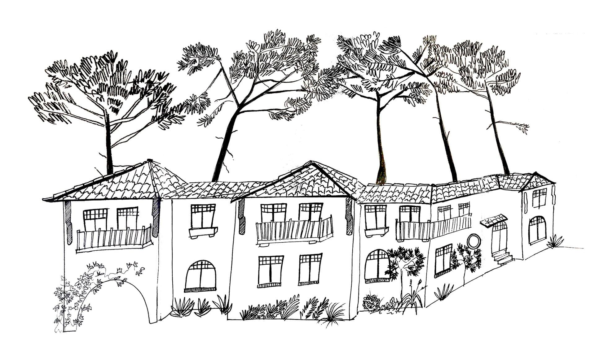 Illustration Villa Aïtama