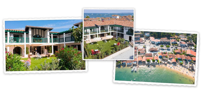 Appartements à louer dans la Villa Aïtama, au Canon